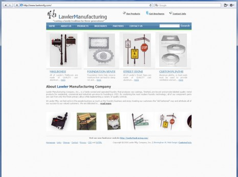 Contrive Website Design - Lawler Mfg.