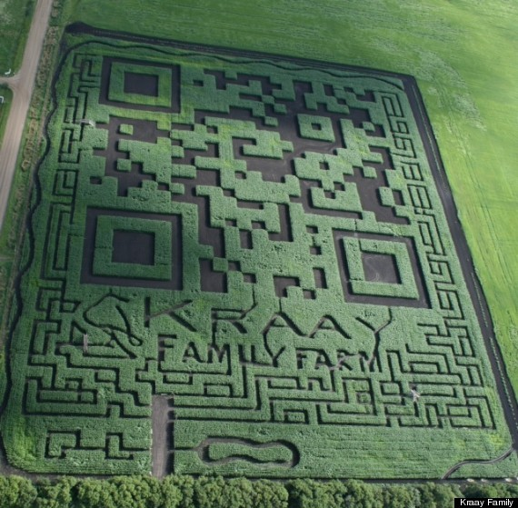 World's largest QR code