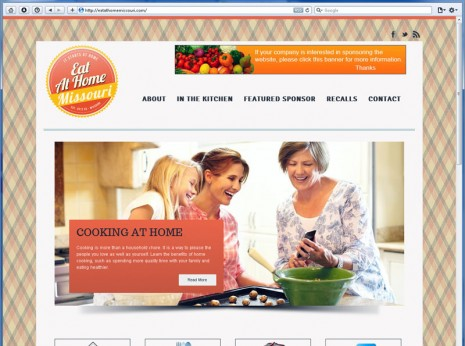 Eat at Home Missouri Web Design