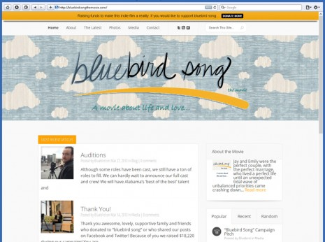 Bluebird Song the Movie