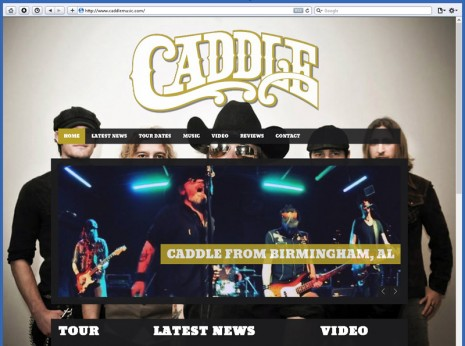 Website Design for Caddle