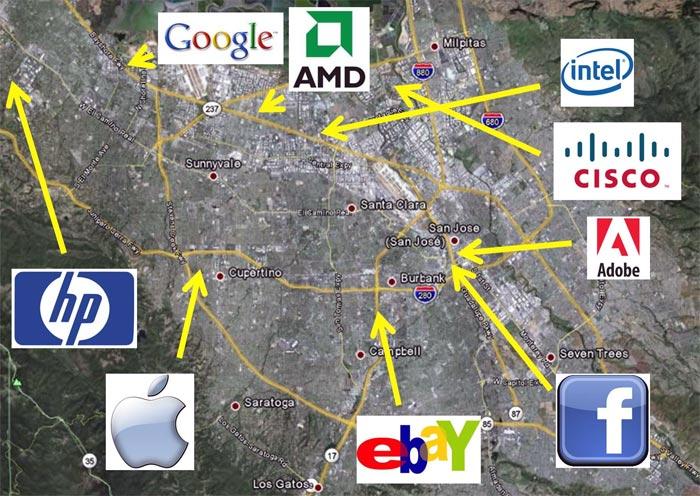 Plotting the next Silicon Valley